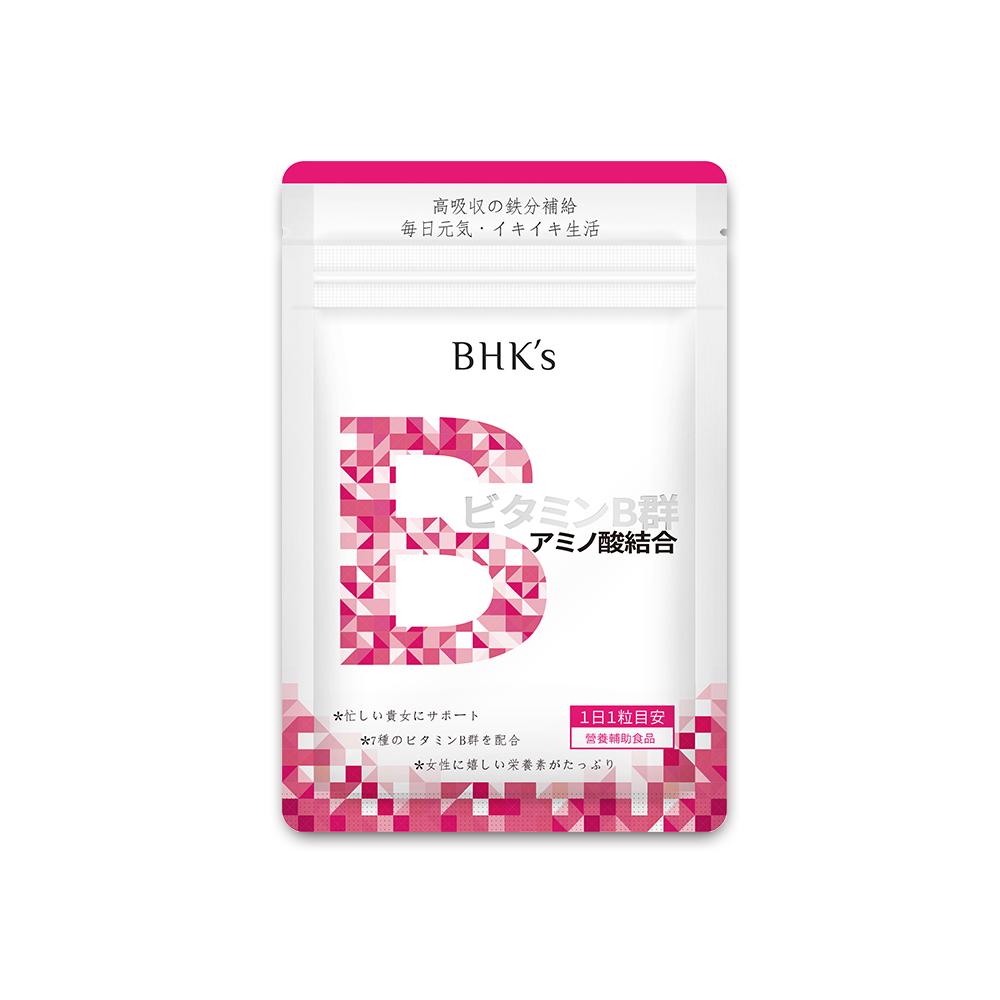 BHK's—璨研維他命B群 鐵 錠狀食品(30顆/包)