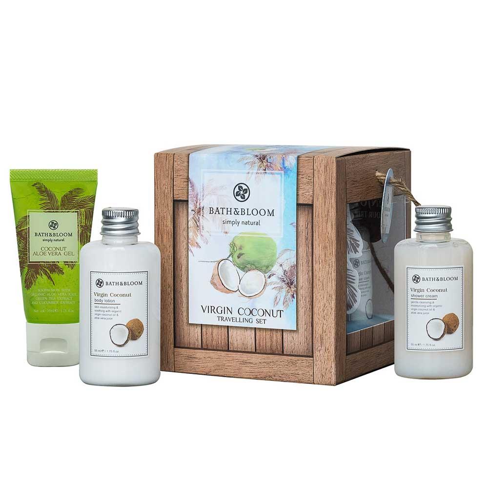 Bath & Bloom 冷萃椰油旅行禮盒組