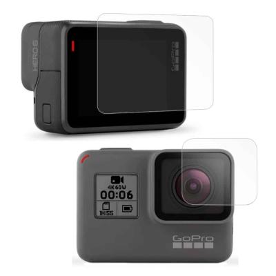 GoPro HERO6 相機鏡頭+觸控螢幕 光學抗刮螢幕保護貼