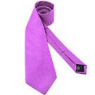 MICHAEL KORS 淺紫色菱格紋造型領帶