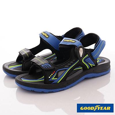 GOODYEAR-快拆磁扣涼鞋-SE3686黑藍(男段)