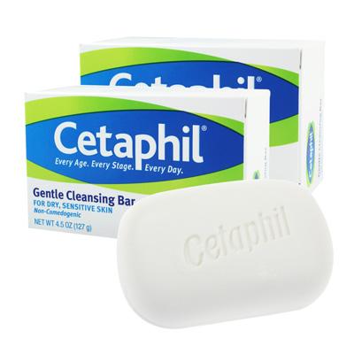 Cetaphil舒特膚 溫和潔膚凝脂 4.5oz x 2+長效潤膚霜 15gx2