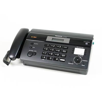 [時時樂限定] Panasonic 國際牌KX-FT981 感熱紙傳真機(鈦金屬黑)