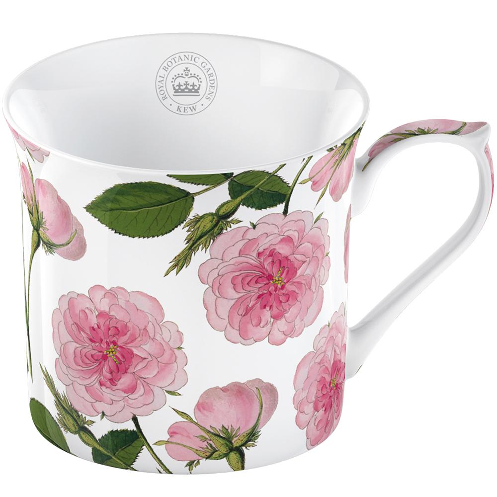 CreativeTops Kew骨瓷馬克杯(粉玫瑰230ml)