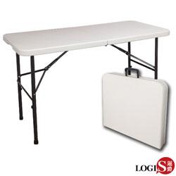 邏爵LOGIS-生活多用萬用摺疊桌/野餐桌/展示桌/會議桌122*61*74