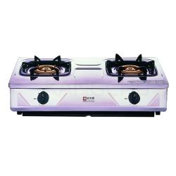 櫻花牌 G-632K 純銅爐頭全白鐵傳統式二口瓦斯爐(不含安裝)