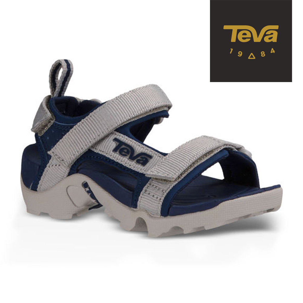 TEVA 美國 寶寶 T Tanza 運動涼鞋(藍灰)