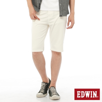 EDWIN-迦績褲JERSEYS內藏腰頭短褲-男