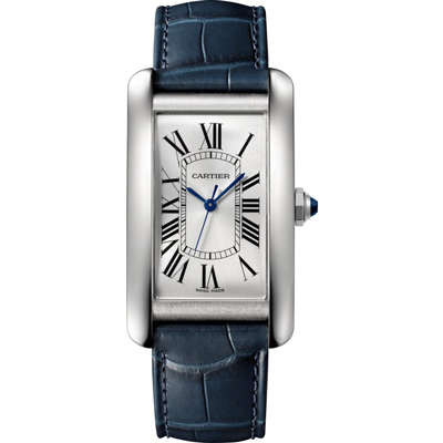 CARTIER卡地亞WSTA0018 TANKAM?RICAINE大型款腕錶