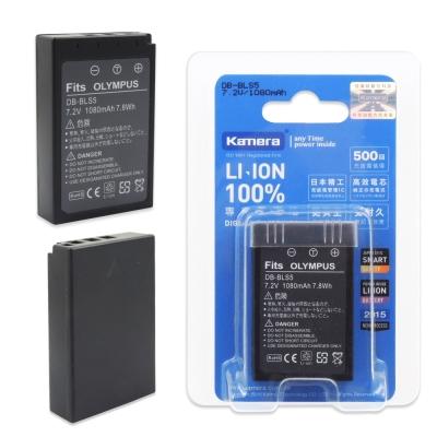 Kamera 佳美能 For OLYMPUS BLS-5 高容量鋰電池