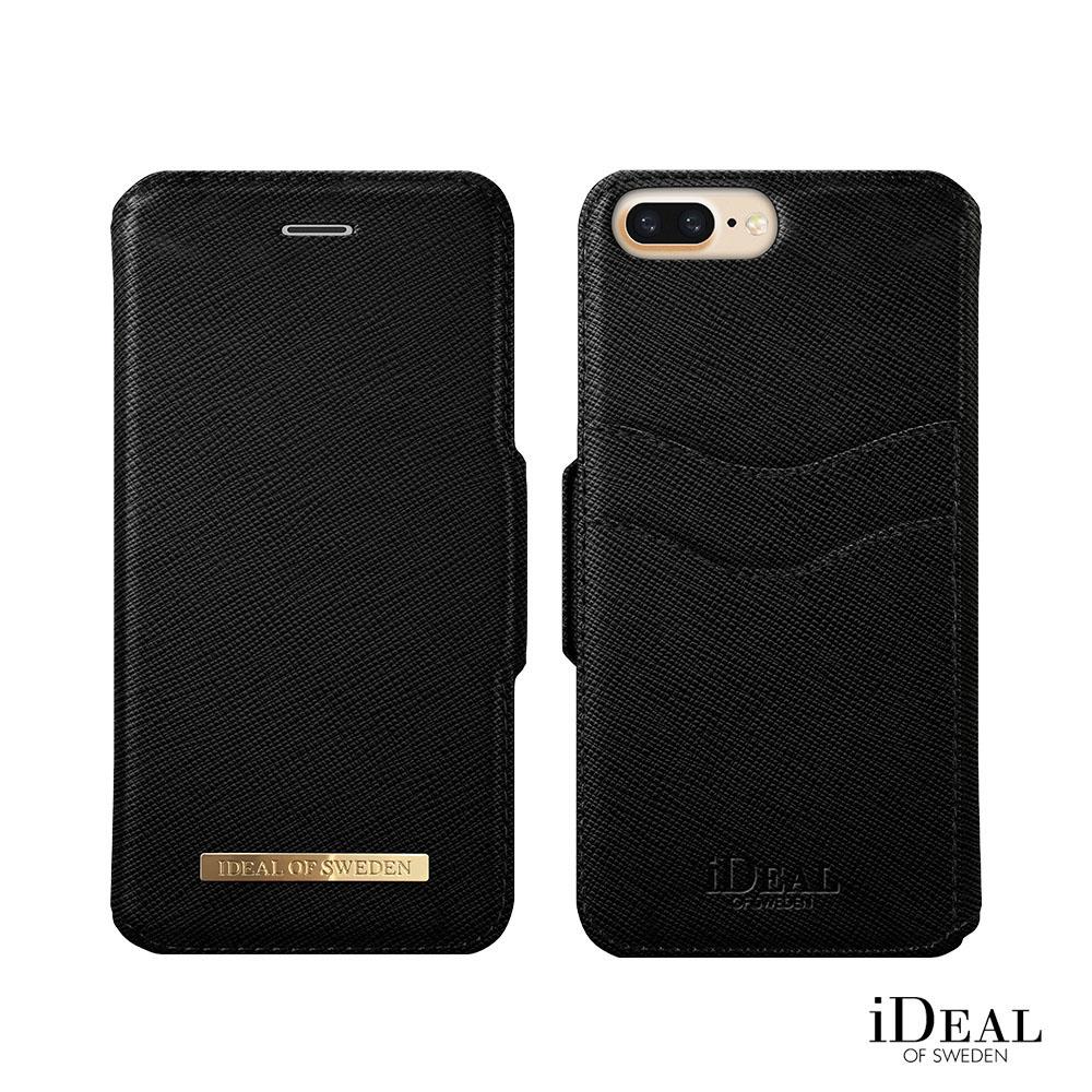 iDeal iPhone 8 plus 7 Plus瑞典精品多功能Saffiano手機皮套