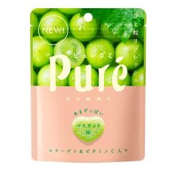 甘樂 Kanro Pure鮮果實白葡萄軟糖(45.5g)