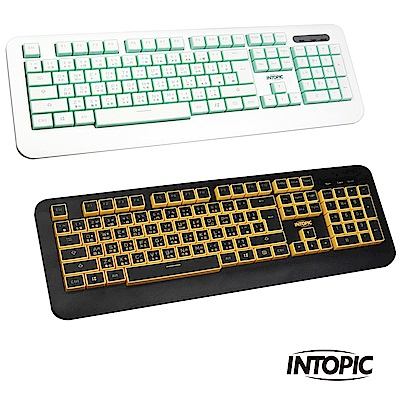 INTOPIC 廣鼎 USB糖果造型鍵盤(KBD-USB-66)