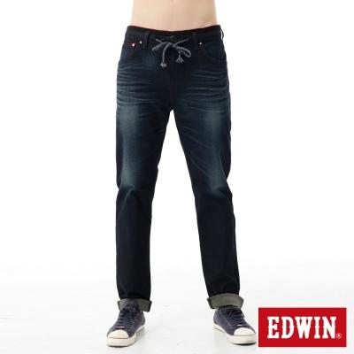 EDWIN-AB褲-迦績褲JERSEYS雙色牛仔褲-男-卡其