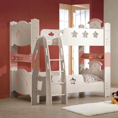 Bernice-卡斯3.5尺雙層床架(兩色可選)