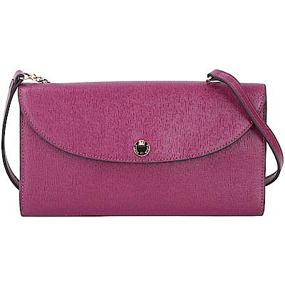 FURLA-Gioia-防刮-手拿-晚宴包-紫-桃