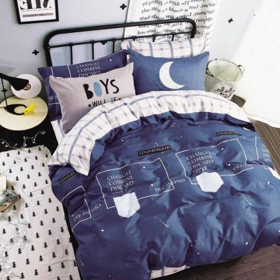 Ania Casa星月神話 單人三件式 100%精梳棉 台灣製 床包被套純棉三件組