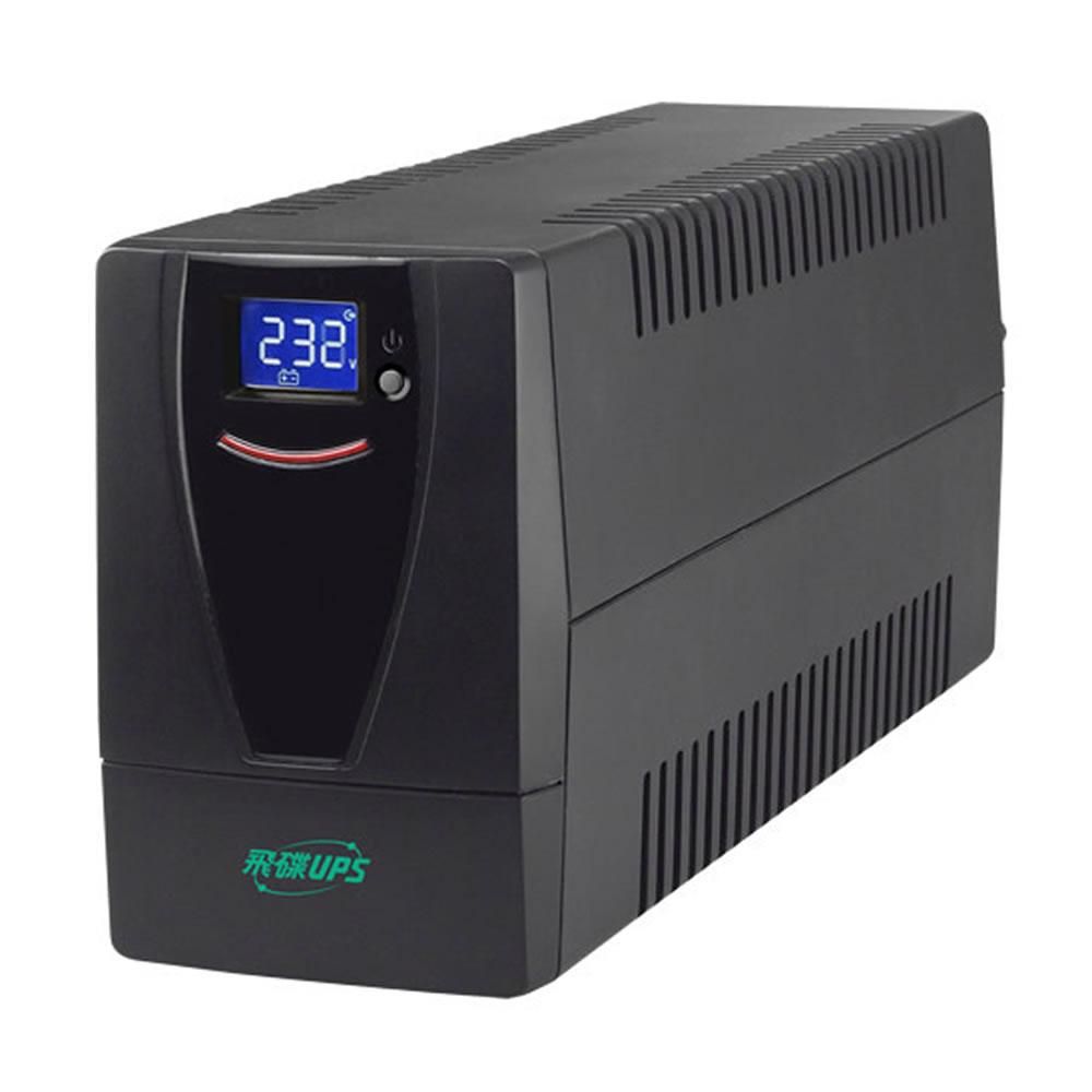 飛碟-1000VA UPS (在線互動式) 穩壓+監控軟體+觸碰式LCD翻頁