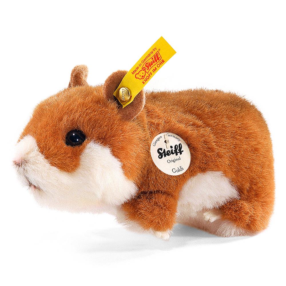 STEIFF德國金耳釦泰迪熊 -  Goldi Hamster  (14cm)