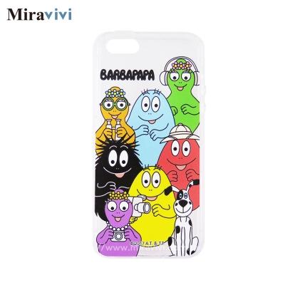 BARBAPAPA泡泡先生iPhone 5S/5SE空壓保護套_泡泡家族