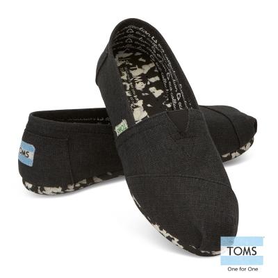 TOMS 經典環保系列懶人鞋-女款(黑)