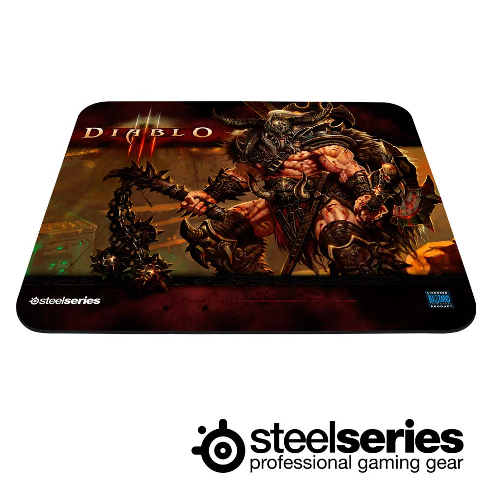 SteelSeries QCK Diablo III Barbarian 鼠墊(野蠻人)