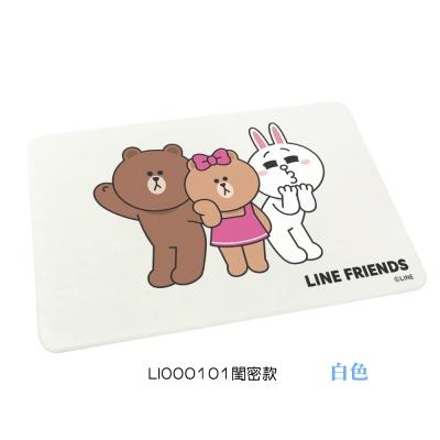 LINE Friends 萌友瞬吸水珪藻土地墊 (閨密款)