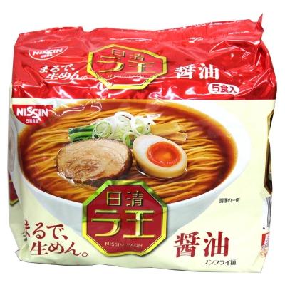 日清 麵王5食包麵-醬油(510g)