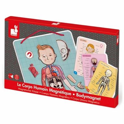 法國Janod 磁鐵遊戲書-我的身體