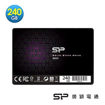 SP廣穎SATA III Slim S60 固態硬碟 240GB