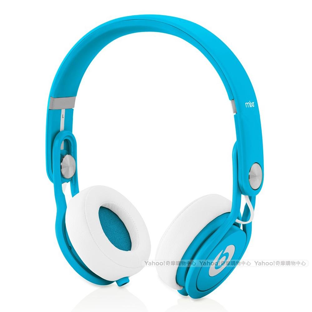 Beats 耳機 Neon Mixr David Guetta聯名款 螢光藍 可摺疊耳機