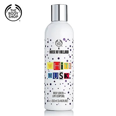 The Body Shop 白麝香絲柔身體潤膚乳250ML