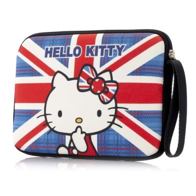 Hello-Kitty-7吋平板保護袋-英倫風