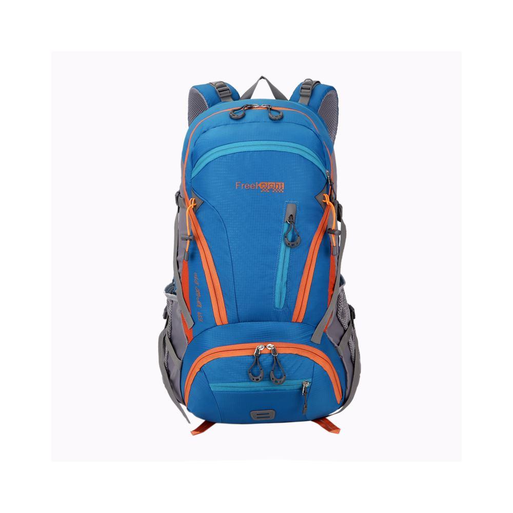 FK0212 BU藍色 可擴充休閒背包/登山包  45L