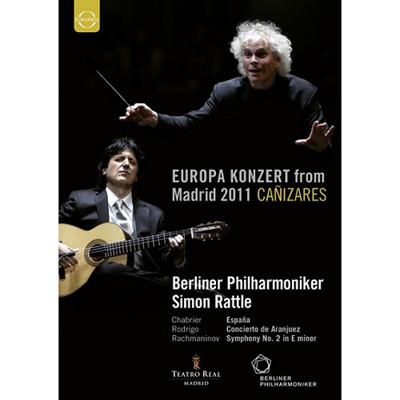 2011歐洲音樂會 在西班牙馬德里 DVD