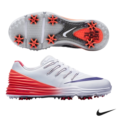 (女) Nike LUNAR CONTROL 4 高爾夫球鞋-灰