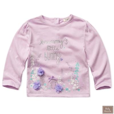 Baby unicorn 兔兔花朵長袖上衣