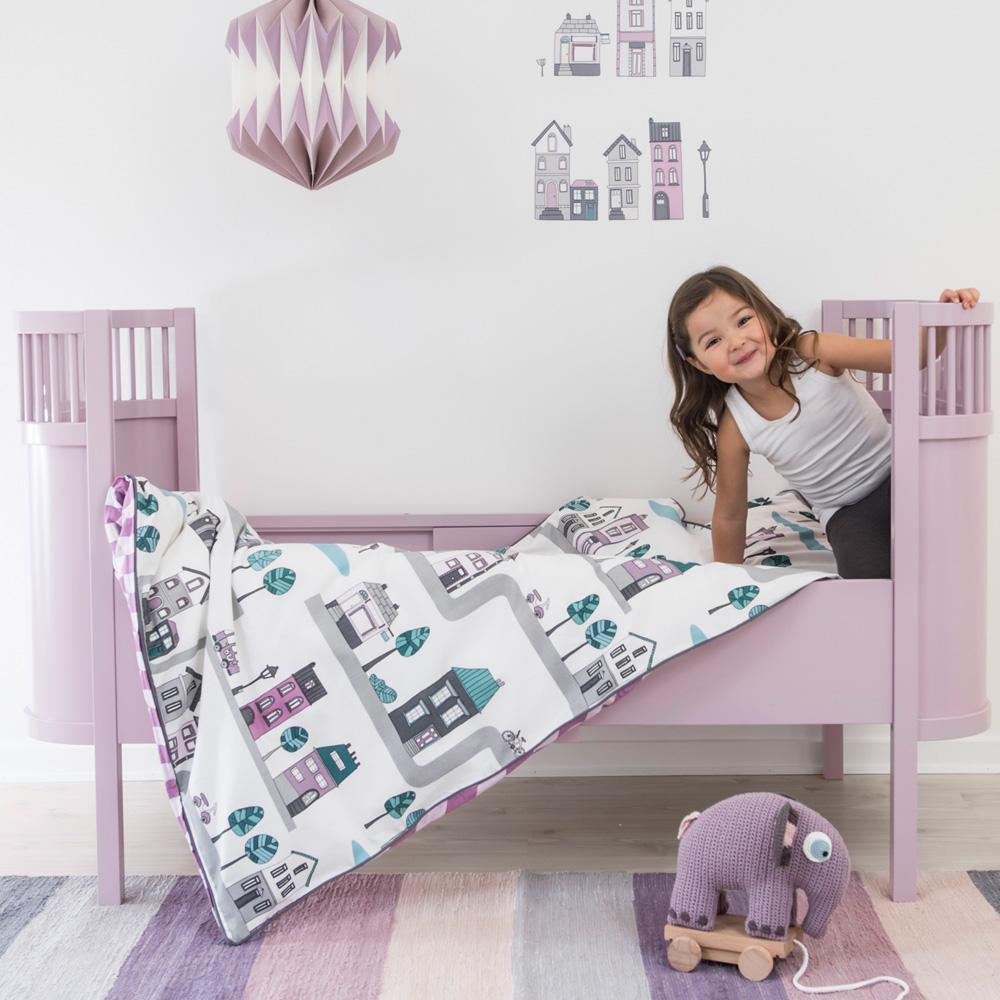 奇哥 sebra 粉彩世界可調嬰兒床-粉色