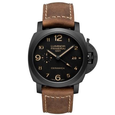 PANERAI 沛納海 PAM00441 經典小秒針日期顯示 黑陶瓷-44mm