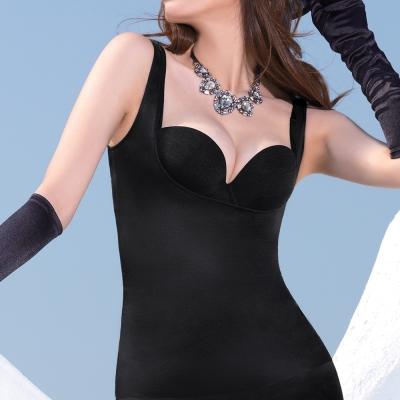 顏Audrey-魔塑美體 輕塑型背心(黑色)