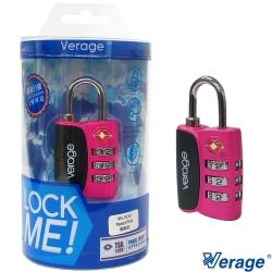 Verage維麗杰 城市系列TSA海關密碼鎖(粉紅)