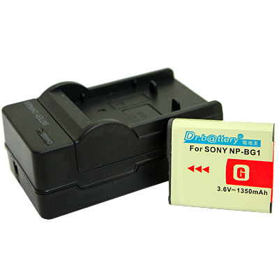 電池王 SONY NP-FG1 / NP-BG1 高容量鋰電池+充電器組
