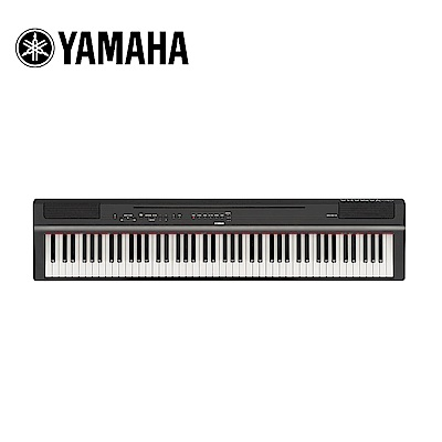 YAMAHA P125B BK 88鍵數位電鋼琴不含琴架組 曜岩黑色款