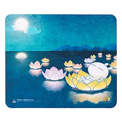 i2艾思奎兔斯基滑鼠墊--明月照玉兔