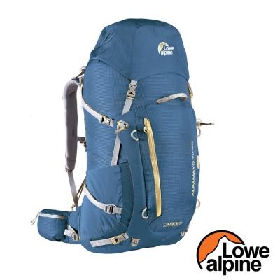 【英國 LOWE ALPINE】AXIOM 70-90L 健行登山背包_邦地海灘藍