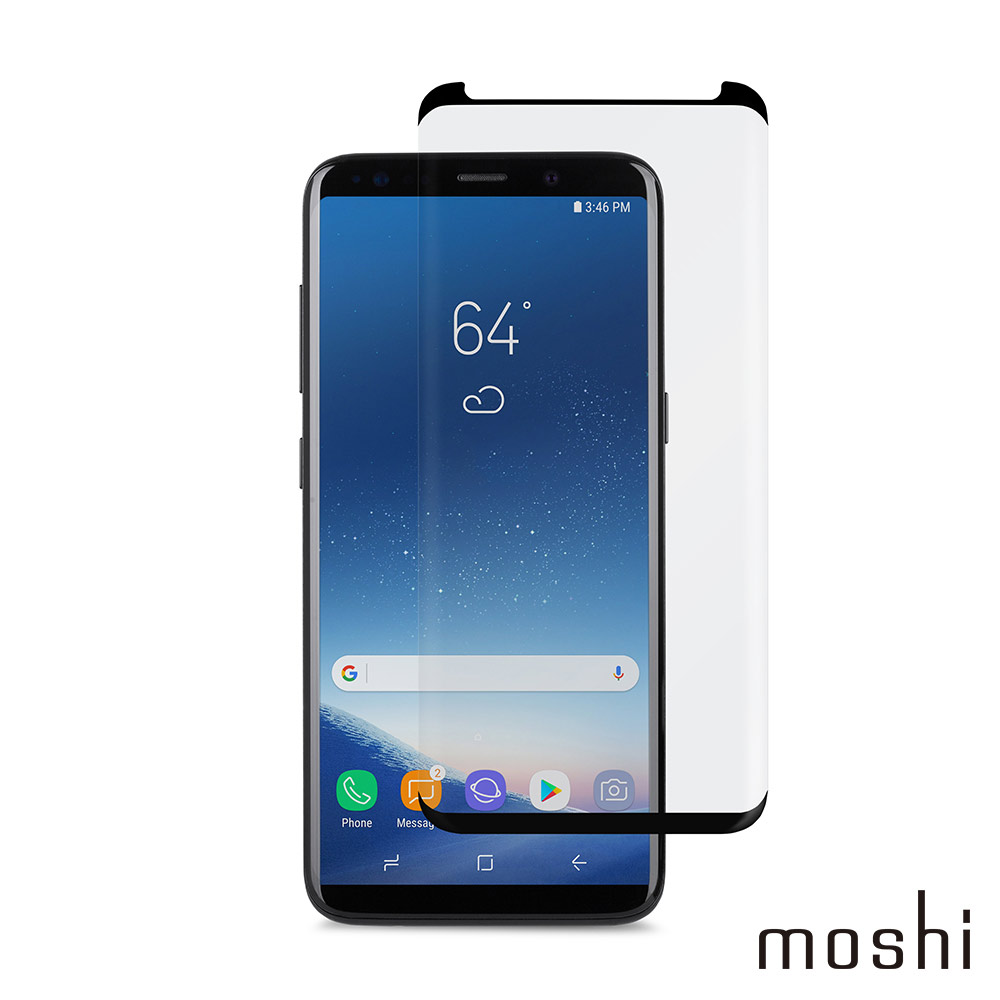 Moshi IonGlass for Galaxy S9+ 強化玻璃螢幕保護貼