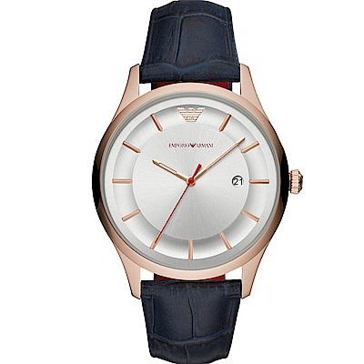 Emporio Armani簡約紳士時尚腕錶(AR11131)-43mm