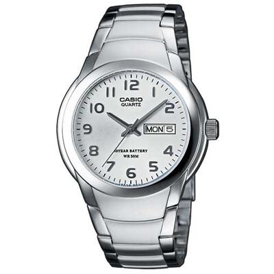 CASIO 世界富豪指針紳士錶(MTP-1229D-7A)-白/37.5mm