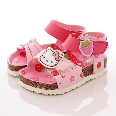 HelloKitty童鞋 草莓涼鞋款 EI17922粉(中小童段)T2