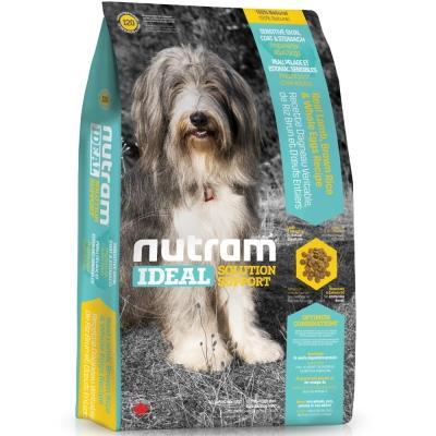 Nutram紐頓 I 20 三效強化犬/羊肉糙米配方  2 . 72 kg【 2136 】